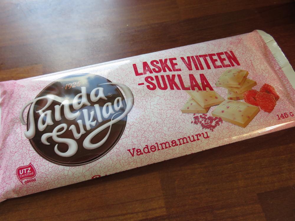 フィンランド Panda社 ホワイトチョコ ラズベリー