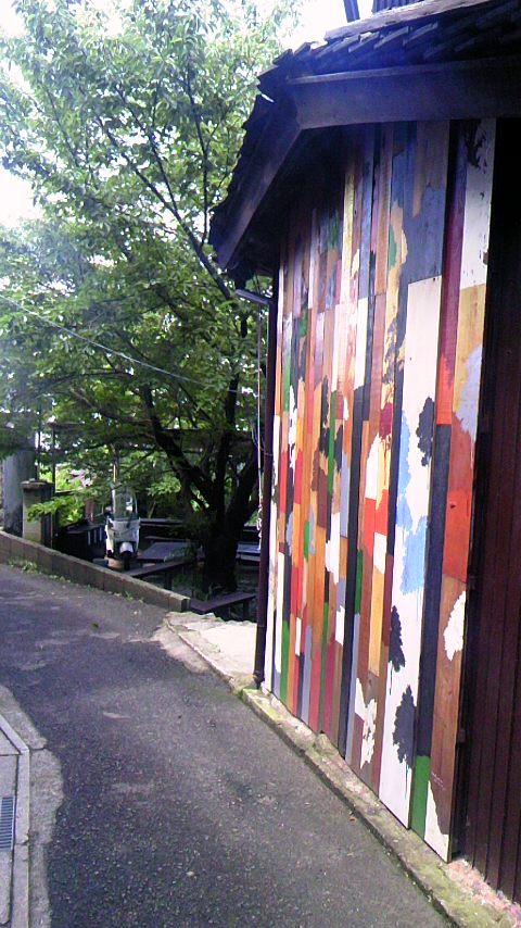 瀬戸内国際芸術祭の壁面アート