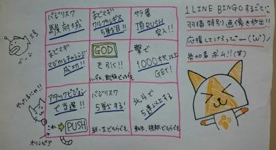羽猫つばさのコスロットブログ、羽猫BINGO