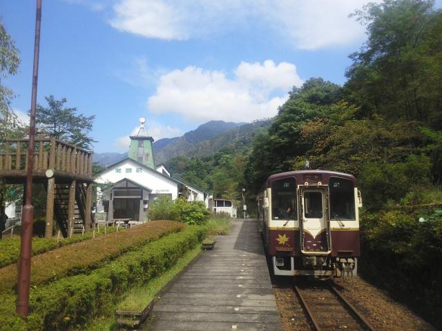 渡瀬渓谷鉄道 間藤駅