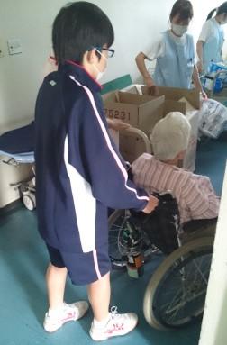 病棟2患者さん送り(ブログアップ)