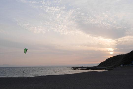 23夕方の海岸