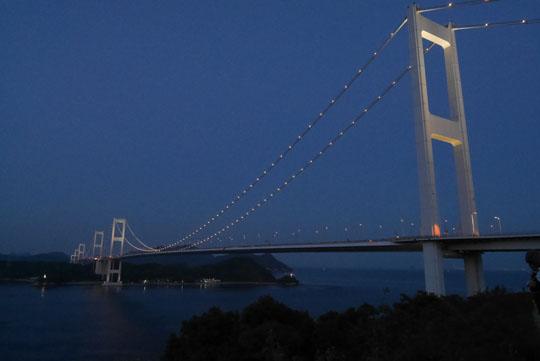 116橋のライトアップ
