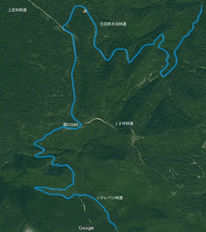 20160810湯の山峠からの分岐