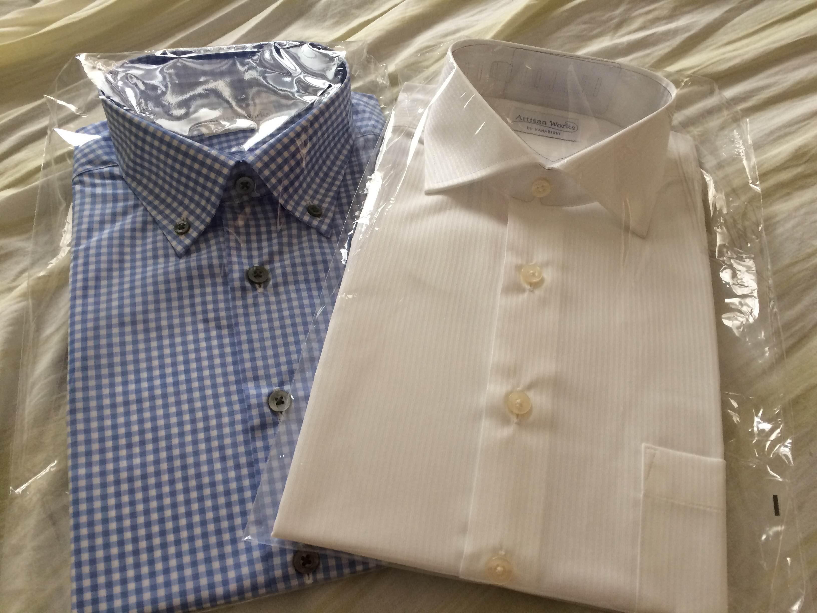 ハナビシのシャツ