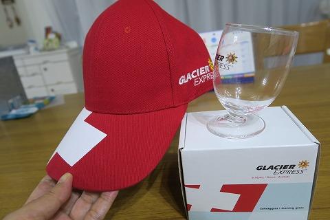 帽子とグラス