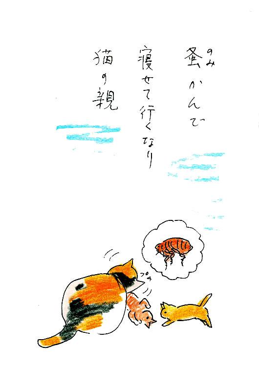 一茶と猫4 蚤かんで
