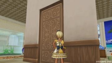 扉付きの壁1