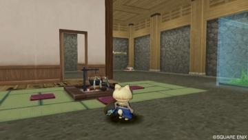和風のお城1階