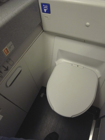 機内トイレ1