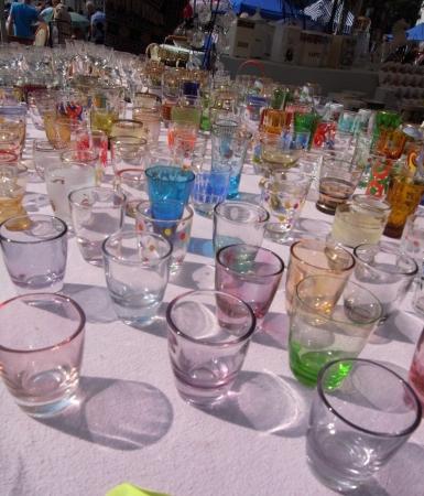 蚤の市グラス