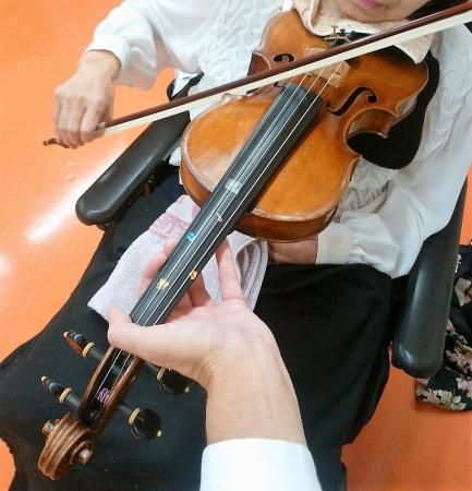 片腕のバイオリニスト