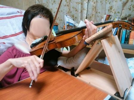 独りバイオリン