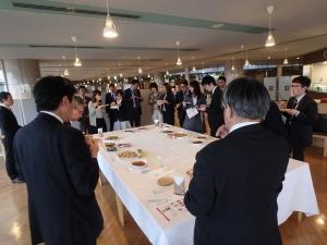 JICA横浜・日京クリエイト合同社内勉強会_試食風景