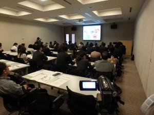 JICA横浜・日京クリエイト合同社内勉強会_講義の模様