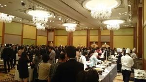 インドネシア料理フェア・開会式会場風景
