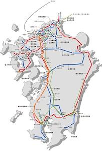 JR九州の路線