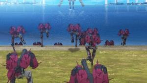 押し寄せるロボット軍団