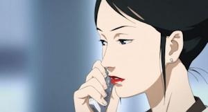 ひっつめ髪の敦子さん