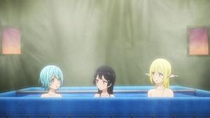 入浴三人娘