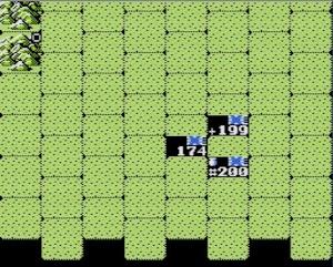 シンプルな戦闘画面