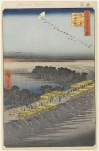 吉原へ至る日本堤