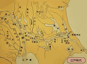 江戸時代の関東平野