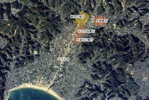 鎌倉の地形