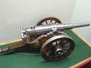 アームストロング砲模型