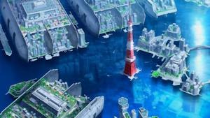 東京の海上都市群