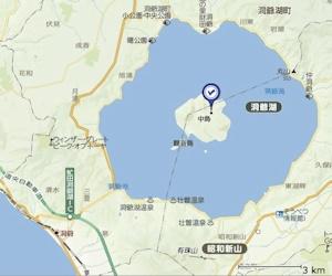 洞爺湖地図