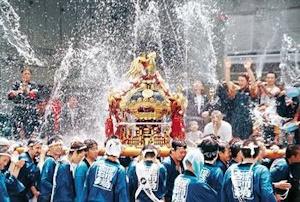 水掛け祭り