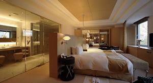 高級ホテルのスイートルーム
