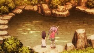 巨大魚と巨大池