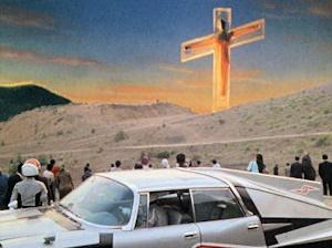 十字架磔のウルトラセブン