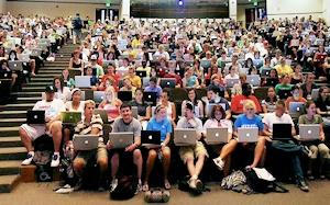 アップル信者の集会