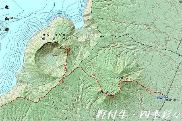s-カムイヌプリ・西別岳