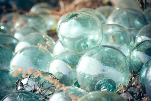 ビー玉 ガラス アンティーク