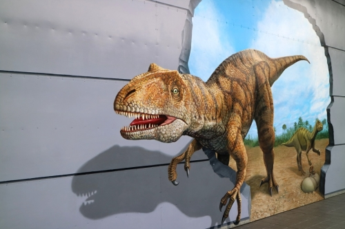 IMG_6059  壁 恐竜