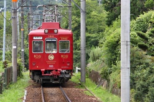 IMG_9487  うめぼし電車 後姿
