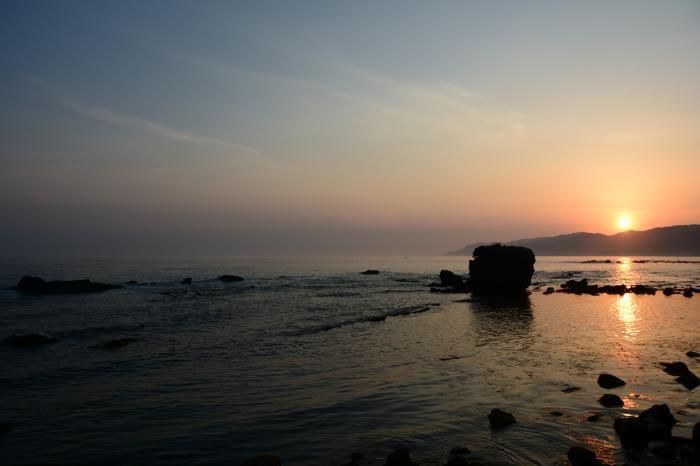 能生0515_朝焼けの日本海