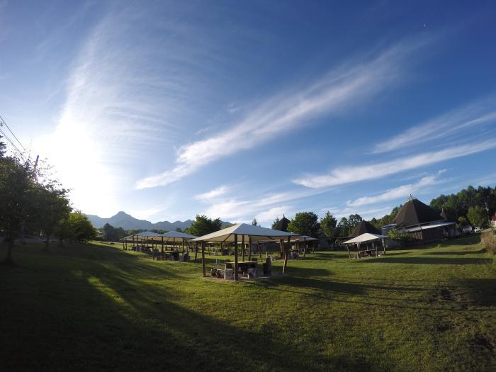 朝ラン0529_実践農場の東屋