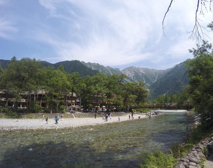 上高地160811_穂高岳