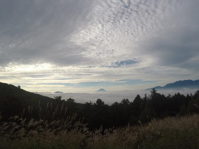 編笠山0917_富士見台から