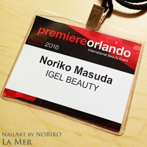 Premiere Orlando iGel Beauty Badge@