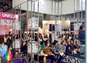 ジェルでつくるスノードームネイルアート 東京ネイルエキスポ2015ステージデモ中5 増田典子  満席