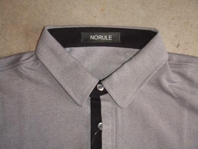 NORULE 2TONE POLO GRAY FT1
