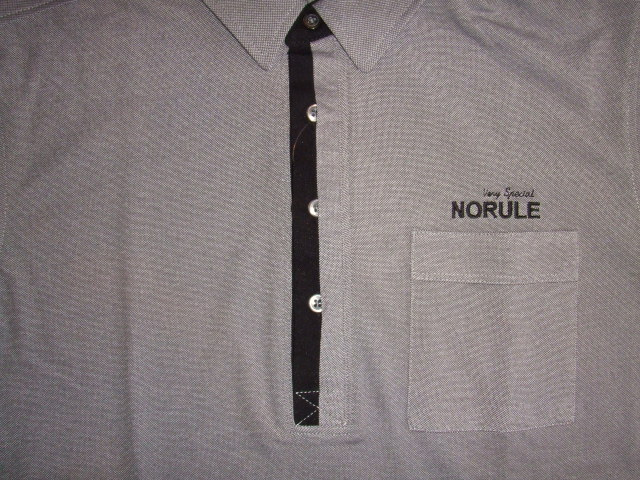 NORULE 2TONE POLO GRAY FT5