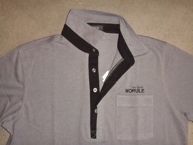 NORULE 2TONE POLO GRAY FT3