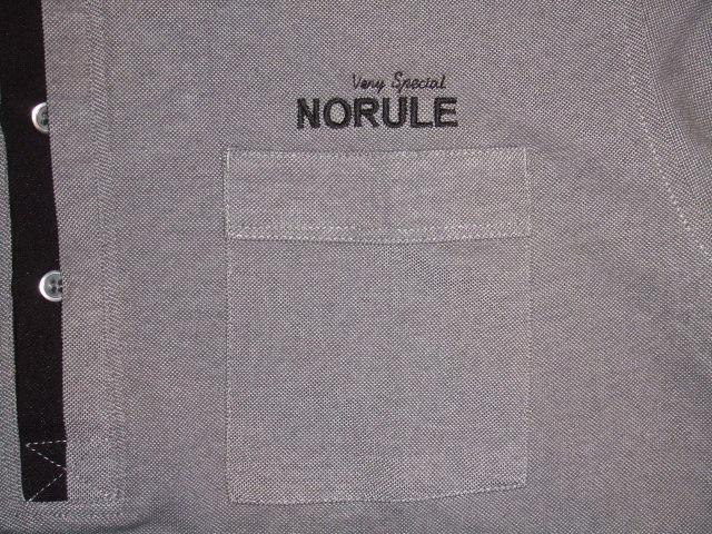 NORULE 2TONE POLO GRAY FT6